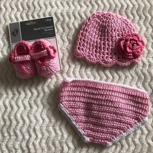 Baby Knitted Matching Set